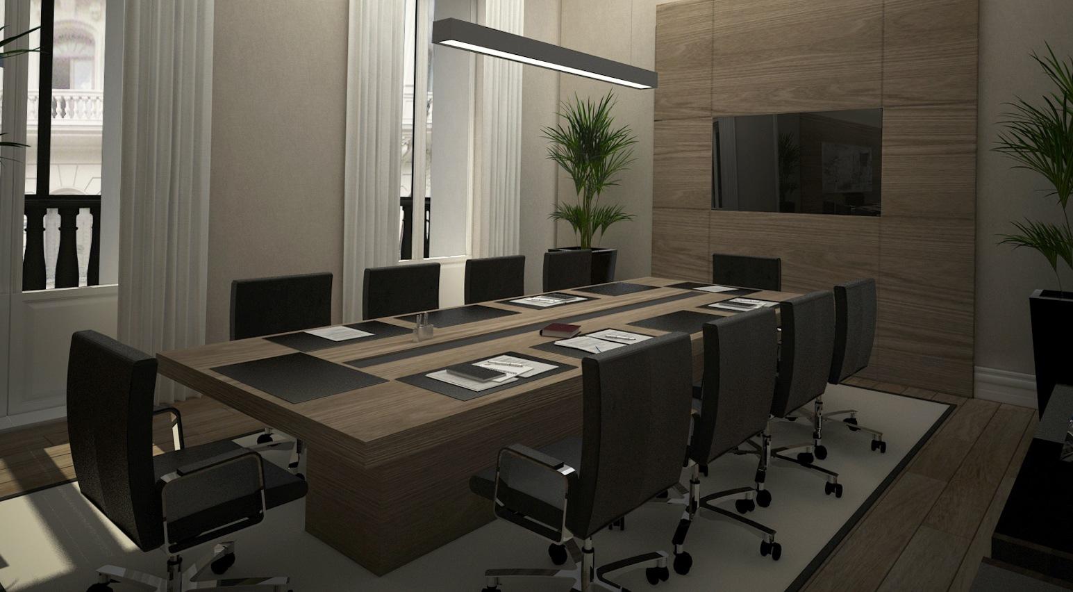 Sala de juntas inteligente